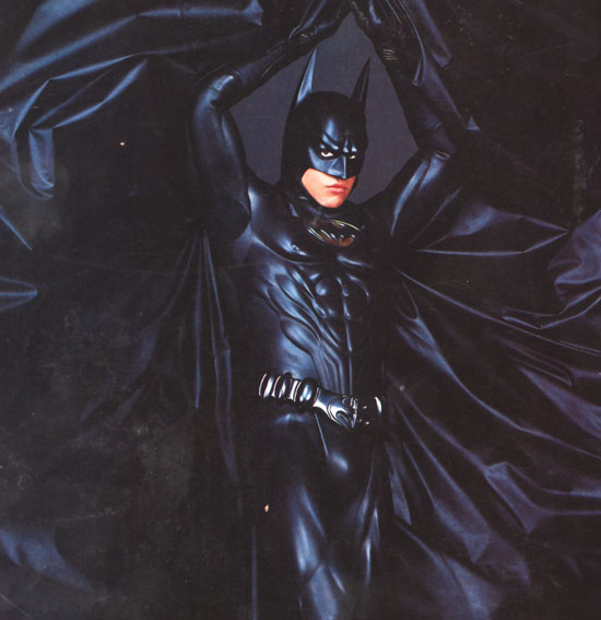 HONORABLE MENTION  BATMAN FOREVER Val Kilmer Batman Suit